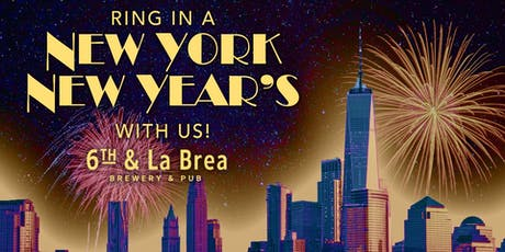6th & La Brea New York NYE Party! tickets