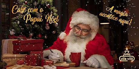 Café da manhã com o Papai Noel ingressos