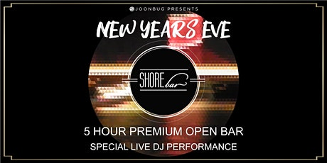 SHOREbar New Years Eve 2020 Party tickets