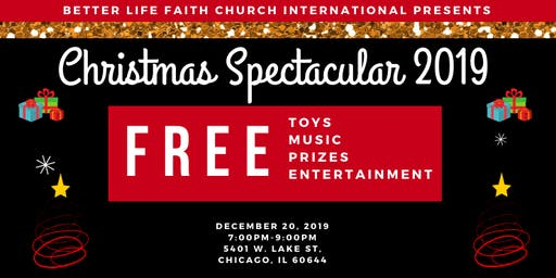 BLFCI Christmas Spectacular - FREE TOYS, ENTERTAINMENT & GAMES