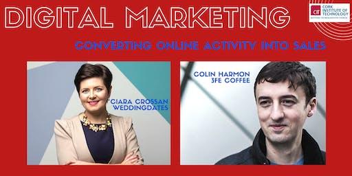 Digital Marketing: converting online activity into sales