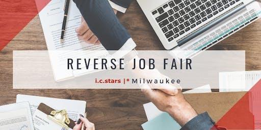 Reverse Job Fair with i.c.stars  * Milwaukee Cycle 4