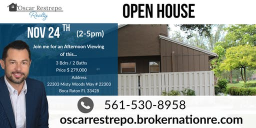Open House in West Boca Raton