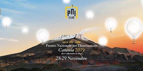 Finale del Premio nazionale per l'innovazione PNI Cube a Catania biglietti