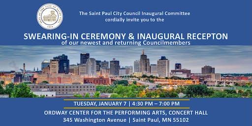 2020 Saint Paul City Council Inaugural