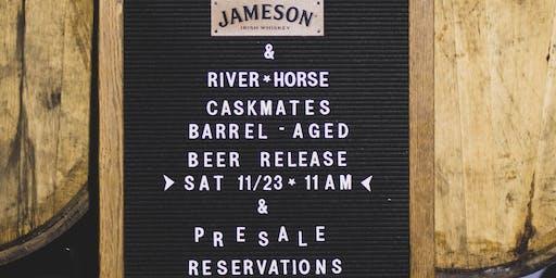 River Horse & Jameson Caskmates Barrel-Aged Beers Presale