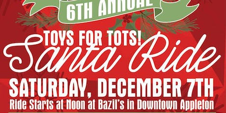 6th Annual New Belgium TOYS FOR TOTS! Santa Bike Ride tickets