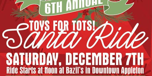 6th Annual New Belgium TOYS FOR TOTS! Santa Bike Ride