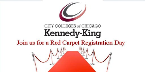 Kennedy-King College Red Carpet Registration Day