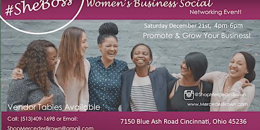 Women's Business Social