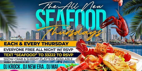 Seafood Thursdays tickets