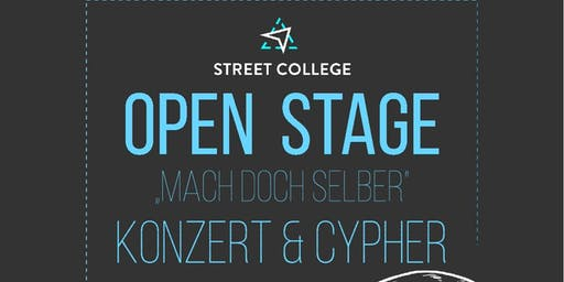 """Open Stage """"Mach doch was du willst"""""""