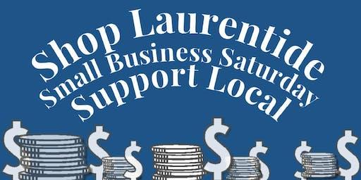 Shop Laurentide Small Business Saturday