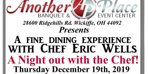 Another Place  presents a Night out with the Chef