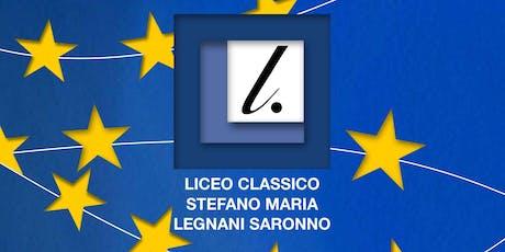 """Liceo """"S.M. Legnani"""" Saronno - OPEN DAY n. 2  14 Dicembre 2019 biglietti"""