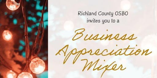 Richland County OSBO Business Appreciation Mixer