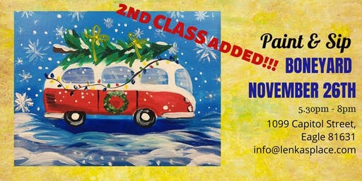 Paint & Sip with Lenka, VW bus