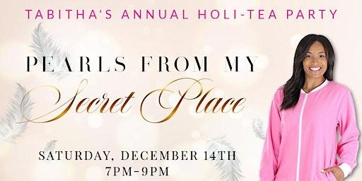 Tabitha's Holi-TEA Party: PJs and Pearls