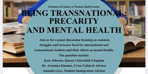 Being Transnational: Precarity and Mental Health
