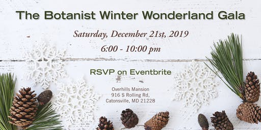 The Botanist Winter Wonderland Gala