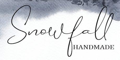 Snowfall Handmade tickets