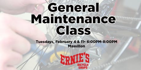 General Maintenance Classes - Massillon tickets