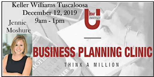 Business Planning Clinic with Jennie Moshure