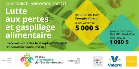 Soirée finale concours d'innovation sociale : Gaspillage alimentaire tickets