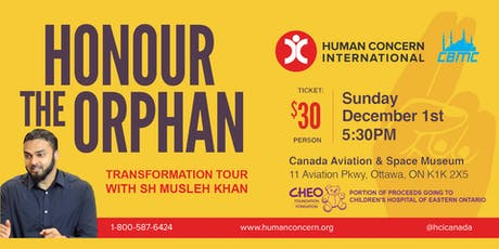 Transformation Tour with Shaykh Musleh Khan : Honour the Orphan  tickets