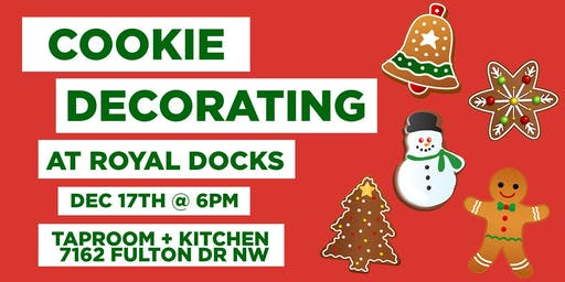 Cookie Decorating Class at Royal Docks