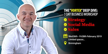 VORTEX Business Workshop - Marketing STRATEGY, SOCIAL Media & SALES tickets