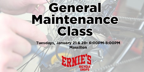 General Maintenance Classes - Massillon SOLD OUT tickets