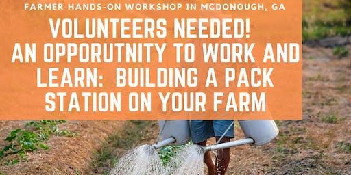 Pack Station Workshop/Farmer Community Build Day