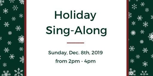 CNIB and Embrace Arts Foundation Holiday Sing-Along