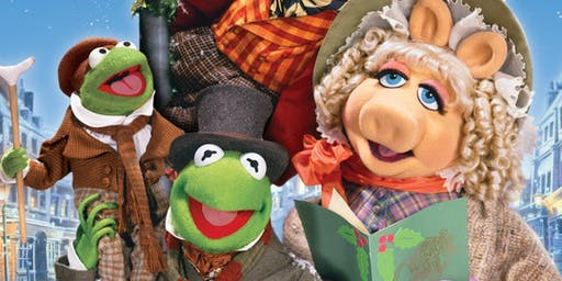 The Muppet Christmas Carol, with finger-puppet workshop