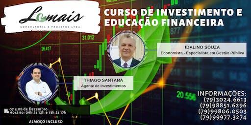 CURSO DE INVESTIMENTO E EDUCAÇÃO FINANCEIRA