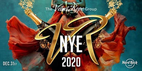 "New Years Eve ""Velvet Rope"" @ Hard Rock Cafe * Washington, DC tickets"