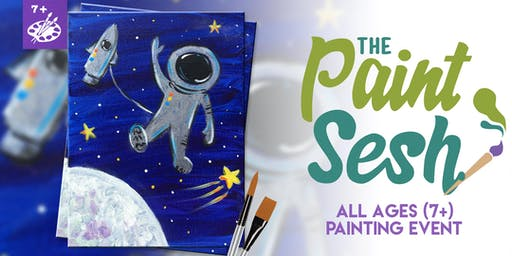 """All Ages Painting Event: Riverside, CA - """"Space Walker"""""""