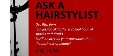 Ask a Hairstylist with Jessica Skilar tickets