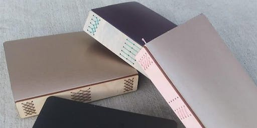 DIY Journal Workshop, Create a Large Journal with Shapes & Colors