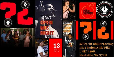 The Return of Po'boys : Open Mic Night tickets