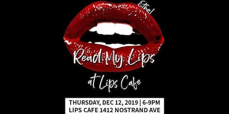 Read My Lips at Lips Cafe Writers League X The Phenomenal Arts Foundation tickets