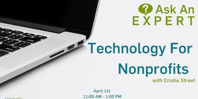 Ask An Expert - Technology For Nonprofits with Cristie Street