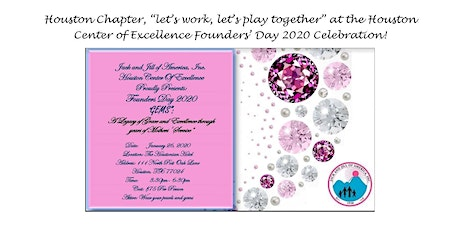 Founders' Day 2020, presented by the Houston Center of Excellence tickets