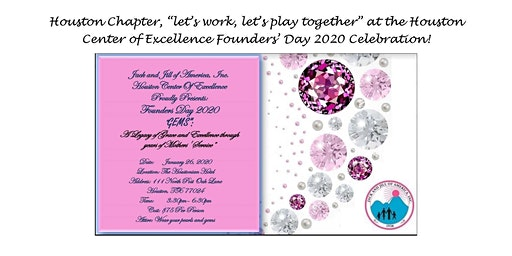 Founders' Day 2020, presented by the Houston Center of Excellence