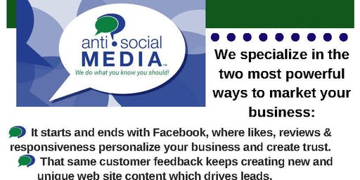 Anti Social Media: How to target home based businesses with Facebook