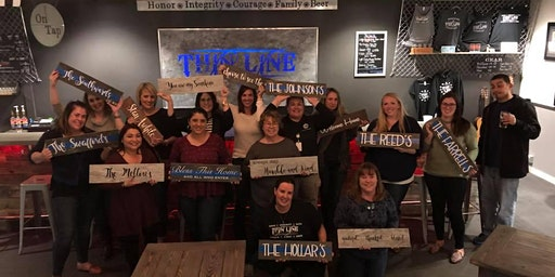 Make & Take Class at Thin Line Brewing