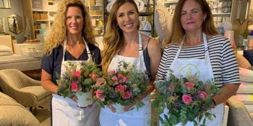 Marvelous Mums for Mums - Umbra Winery - Grapevine with Alice's Table