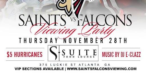 Saints vs Falcons Watch Party
