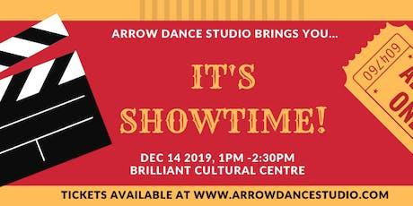 It's Showtime: ADS Winter Recital tickets